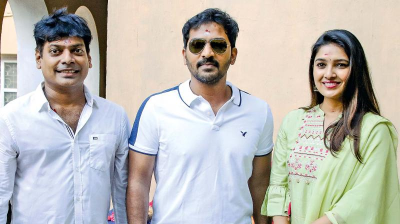 Famous Television Actress Vani Bhojan Makes Her Film Debut With Vaibhav in Lead