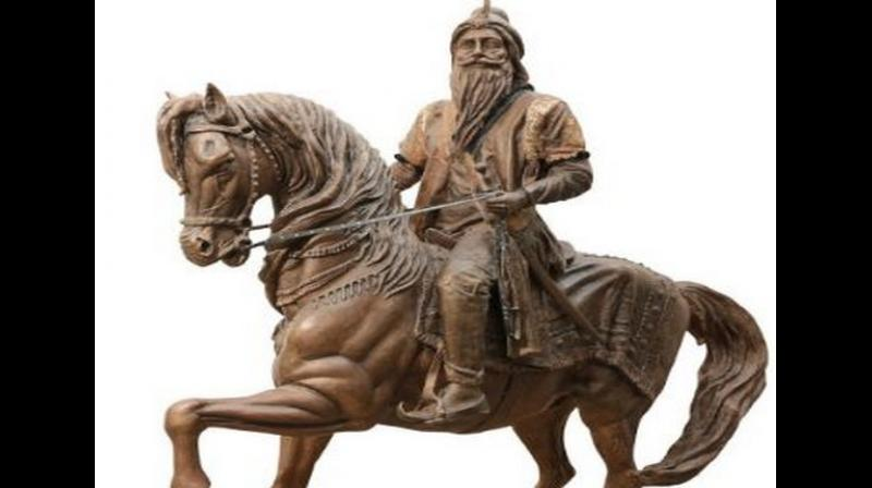 Maharaja Ranjit Singh was the leader of the Sikh Empire, which ruled the northwest Indian subcontinent in the early half of the 19th century. (Photo: ANI)
