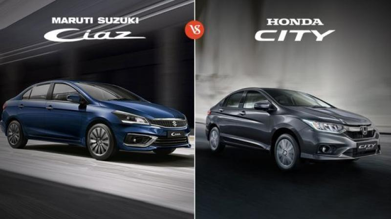 Let's compare the 2018 Ciaz with the popular Honda City and find out which of these two sedans you should go for.