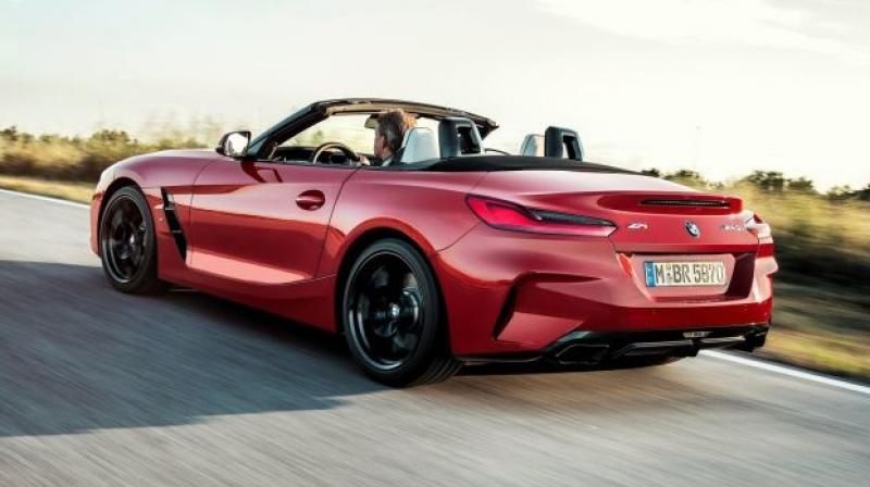 In June 2018, BMW teased the third-gen Z4 undergoing driving dynamics tests.