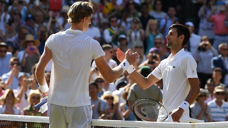 In this year's Wimbledon men's final, South African Kevin Anderson lost to Novak Djokovic in straight sets less than two days after beating John Isner 26-24 in the fifth set after more than six-and-a-half hours on court. (Photo: AFP)