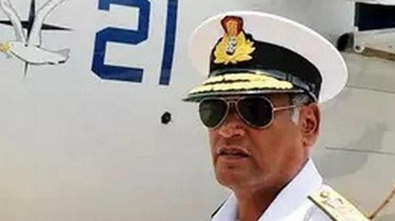 Singh will supersede Vice Admiral Bimal Verma (in pic), who is the senior most in terms of length of service. (Photo: ANI)