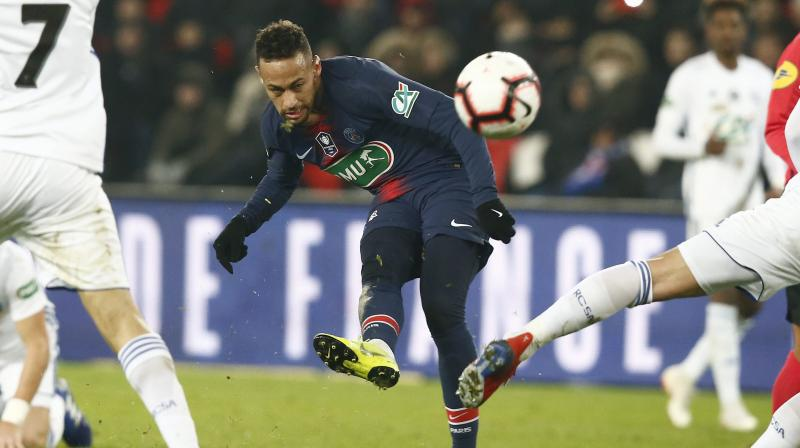 PSG, who have 81 points from 32 games, lead second-placed Lille by 17 points. (Photo: AP)