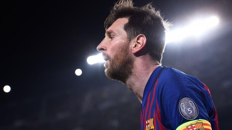In La Liga, Messi has the highest number of goals(33), helping his side Barcelona atop the points table with 74 points, (Photo: AFP)