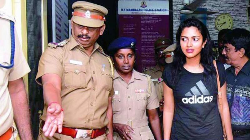 Actress Amala Paul recently lodged a complaint with the Chennai police and brought to light a shocking incident of sexual harassment at her workplace.