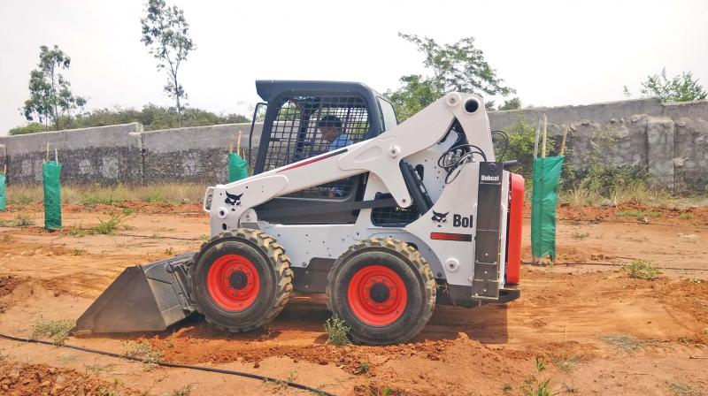 SFRI procures machinery to save forests in Tamil Nadu