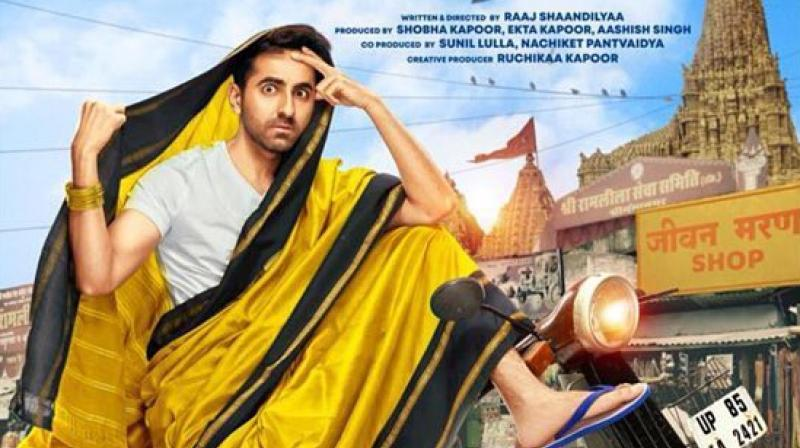 Dream Girl's first look featuring Ayushmann Khurrana.