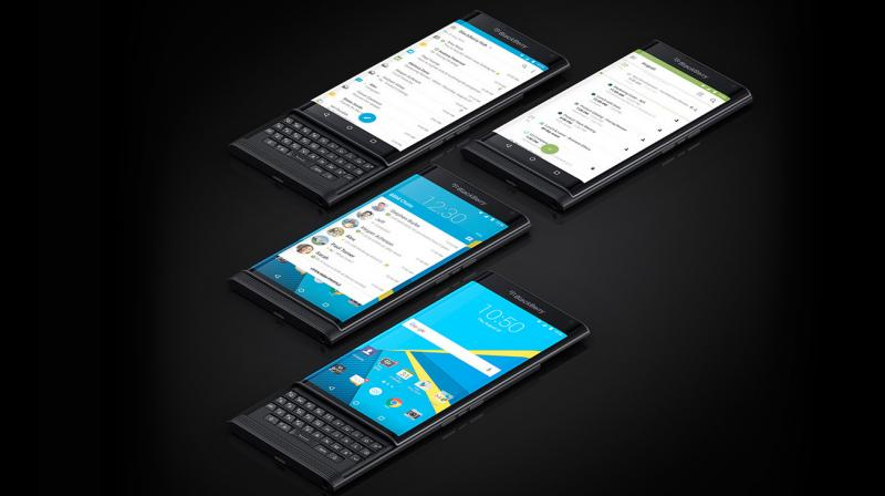 BlackBerry Priv support ends