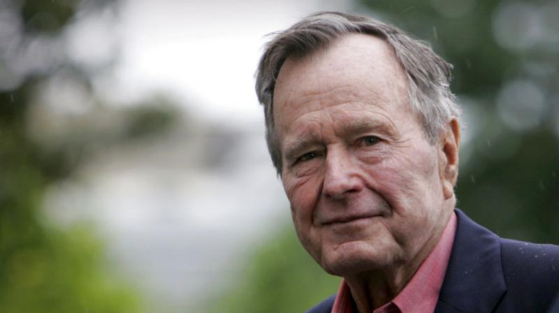 The touching manner in which George Herbert Walker Bush, America's 41st President, is being bid farewell as politicians set aside differences to honour him is a wistful reminder of an era that has passed, where the world's most powerful individual could be gentle and graceful too. (Photo: AP)