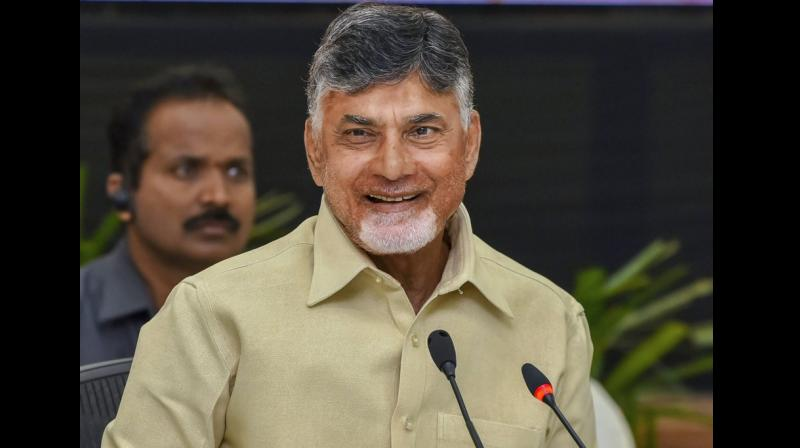 'Gujarat is a small state. Delhi is a big place. It has to deal with 29 states. If all the people (officers) are brought from a small place, you will have all inefficient people,' Andhra Pradesh CM Chandrababu Naidu said. (Photo: PTI)