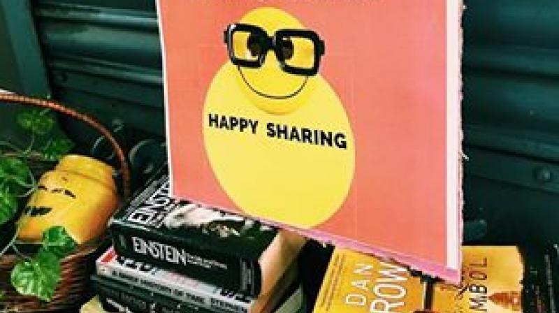 Highlighting the joys of sharing (Photo: Facebook)