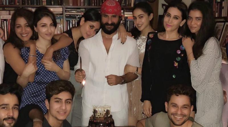 Saif Ali Khan's 47th birthday.