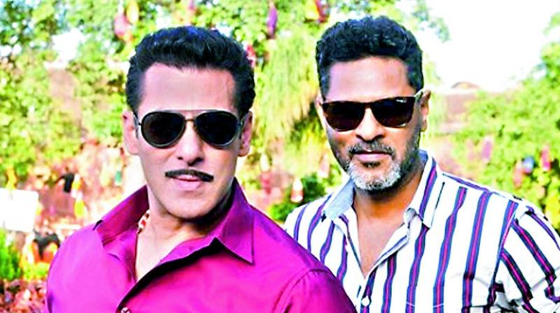 Salman Khan and Prabhudeva.