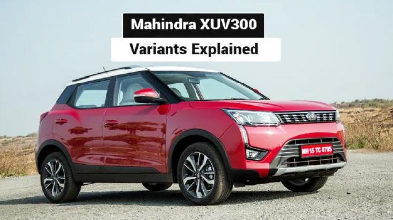 Mahindra Xuv300 Variants Explained W4 W6 W8 And W8 O