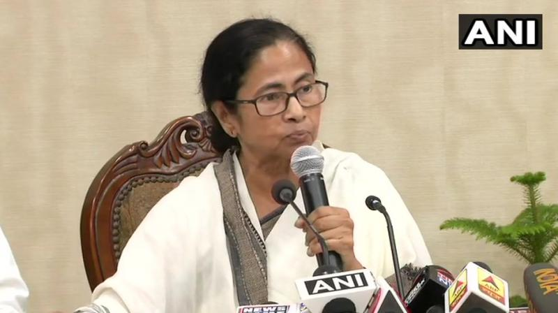 'I appeal to all doctors to resume work as thousands of people are awaiting medical treatment', Mamata said. (Photo: ANI)