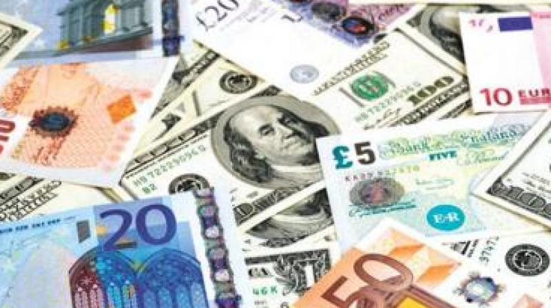 The foreign currency finds its way into the country through NRIs who visit their homes round the year, an official said.