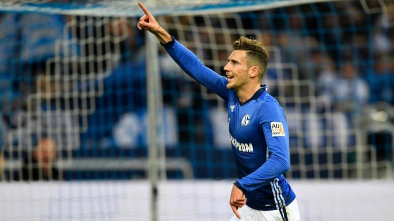 The right-footed Goretzka joined Schalke from VfL Bochum in 2013 and has scored 19 goals in 130 games for the Royal Blues. (Photo: AP)