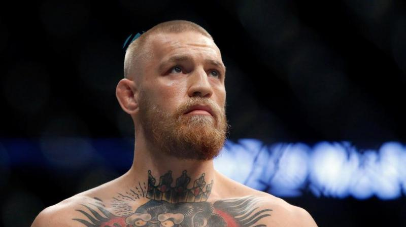 However the UFC chief did not say that Irishman McGregor had already been stripped of his belt, despite repeated questions from the media. (Photo: AFP)