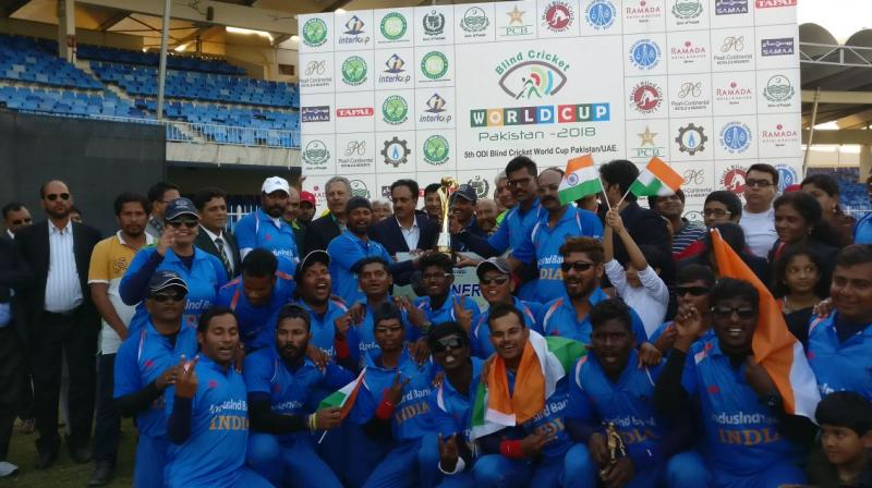 Modi congratulates blind cricket team on World Cup win