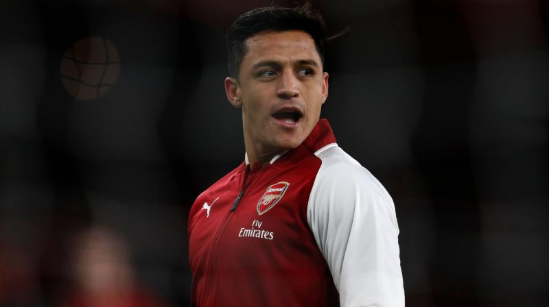 The Chile international has scored 80 goals in 166 appearances in all competitions for Arsenal since joining from Barcelona for 35 million pounds ($48.52 million) in July 2014.(Photo: AFP)