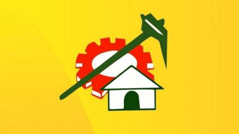 Telugu Desam logo.