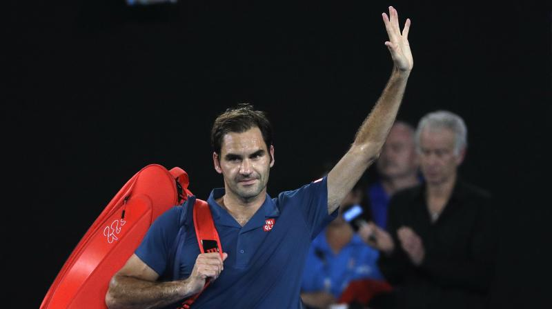 Federer needed barely an hour to take his record to 22-3 over Wawrinka. (Photo: AP)