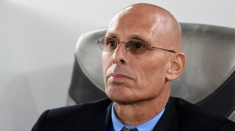 India coach Stephen Constantine stepped down Monday after an injury-time Bahrain penalty floored his side 1-0 and denied the cricket-mad nation a historic spot in the Asian Cup knockout stages. (Photo: AFP)
