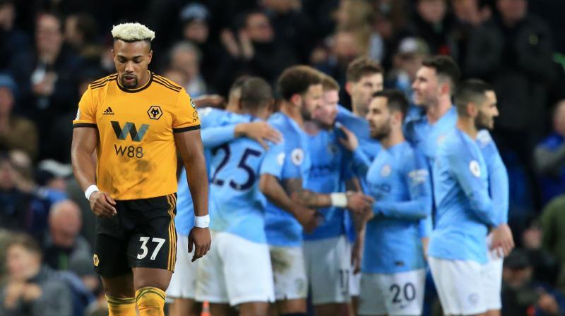 size 40 28221 7c22b Premier League: Manchester City ease past 10-man Wolves to ...
