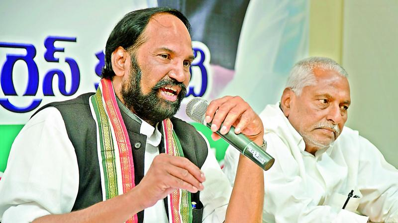 TPCC chief N. Uttam Kumar Reddy