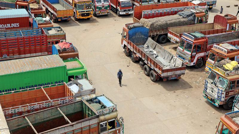 Freight rates remained unavailable due to ongoing nationwide indefinite strike by transporters which entered the eighth day on Friday.