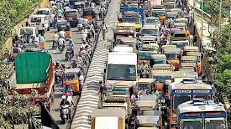Traffic from Etebaar Chowk will not be allowed towards Gulzar Houz, diversion via Arman cafe9 Alijha Kotla. (Representional Image)
