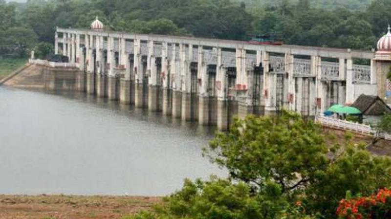 Poondi Reservoir.