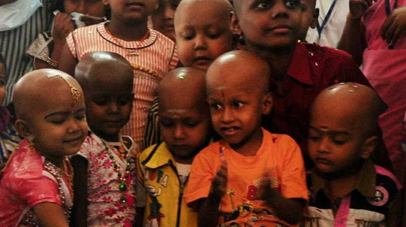 September is observed as Childhood Cancer Awareness Month.	 —File photo