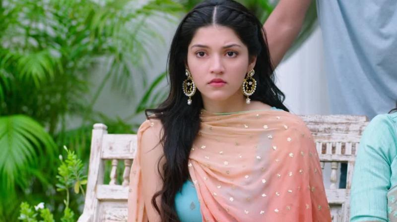 The big leap: After a great start in Tollywood, Mehreen makes her Bollywood debut alongside Anushka Sharma in Phillauri
