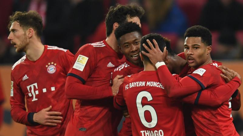 Bayern Munich head to Liverpool for Tuesday's crunch Champions League tie at Anfield demanding improvements and shouldering Germany's flagging hopes of having a club in the quarter-finals. (Photo: AFP)