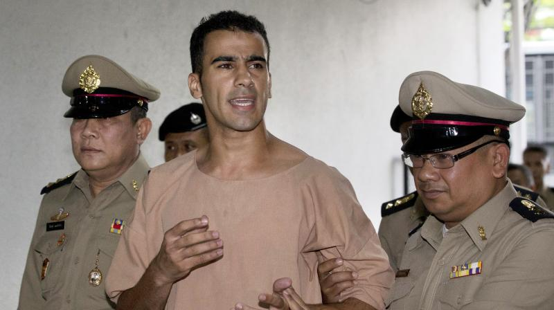 Police Deputy Commissioner Ramzi Jabbour told a Senate committee the two countries were alerted on Nov. 27 almost six hours before Hakeem al-Araibi landed after a nine-hour flight from Melbourne on his honeymoon. (Photo: AP)