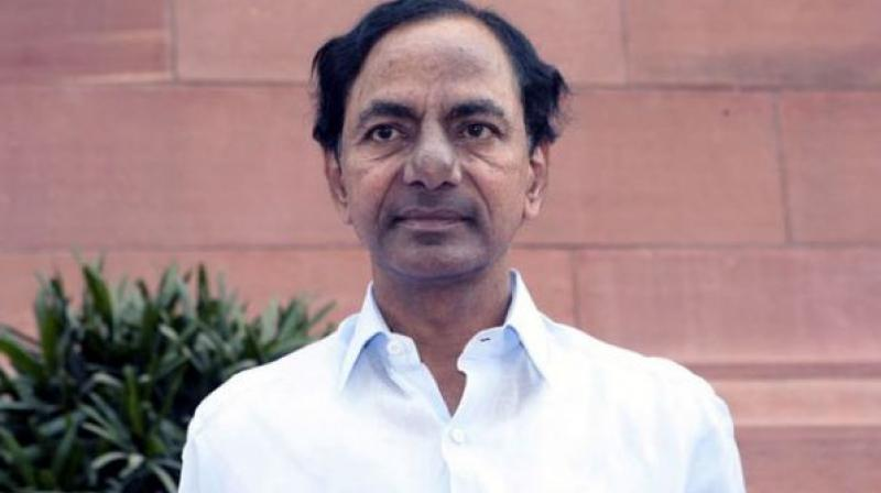 Telangana Chief Minister K Chandrasekhar Rao was leaving for Adilabad to attend a function, when the incident happened. (Photo: File)
