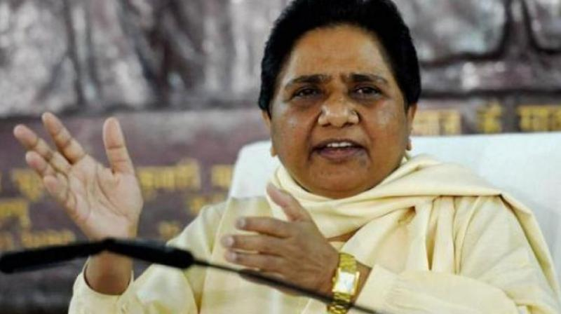 'This shows BJP's arrogance,' Mayawati said. (Photo: File)
