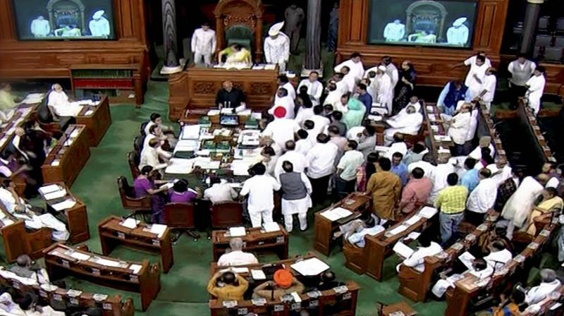 Tabling the Bill, social justice and empowerment minister Thaawarchand Gehlot said it seeks to reject the amendments inserted in the original Bill by the Rajya Sabha. (File photo: PTI)