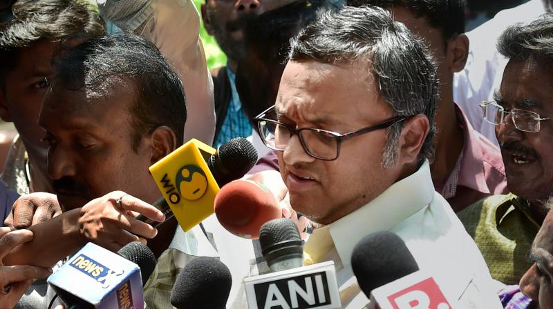 ED questions P Chidambaram's son in INX Media scam