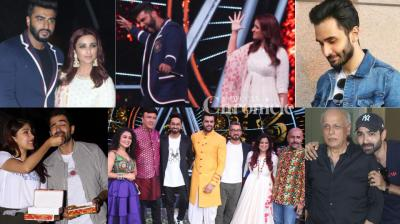 Promotions galore: B-Town stars of upcoming films were seen at events related to their films in Mumbai on Monday. (Photos: Viral Bhayani)