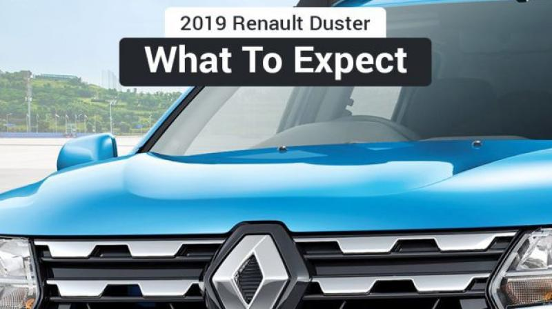The 2019 Renault Duster will launch on 8 July.
