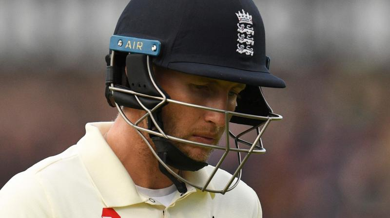 Captain Joe Root said England's year could still be judged a success even if they fail to level the Ashes series against Australia by winning the final Test at the Oval. (Photo:AFP)