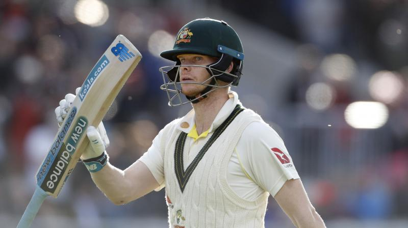 Former Australian team Captain Ricky Ponting believes batsman Steve Smith isn't the sole reason for Aussies' success in the Ashes 2019. (Photo:AP)