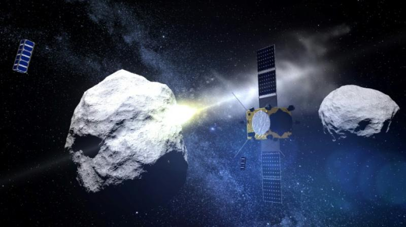 Large asteroid to hurtle past Earth  (Photo:AFP)