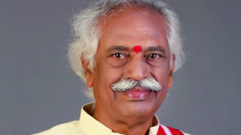 Union minister Bandaru Dattatreya on Friday has resigned from the post of Minister of State for Labour and Employment (Independent Charge). (Photo: File)