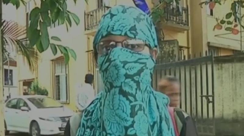 'BJP corporator Daya Gaikwad raped me at house of Ashwini Dhumal on September 26,' the victim from Thane alleged. (Photo: ANI/Twitter)