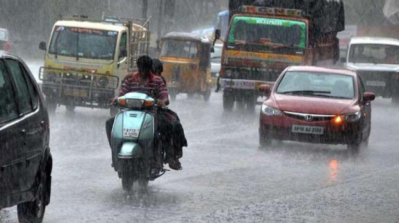 Experts say the GHMC must look for a parallel stream along the road for the water to seep in. Also high grade bitumen (M30, M35) if used can help water seepage.  Rainwater is the main source of groundwater recharge.(Representational image)