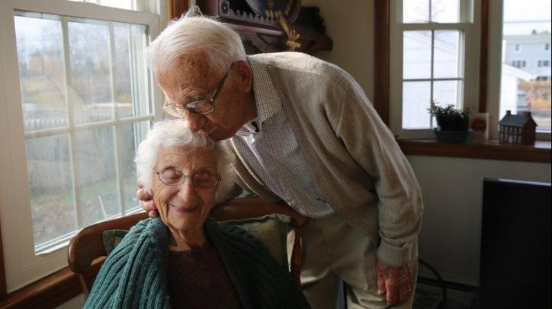 Ann and John spent more than eight decades together, and in February 2013, were declared one of America's longest married couples. (Photo: Twitter)