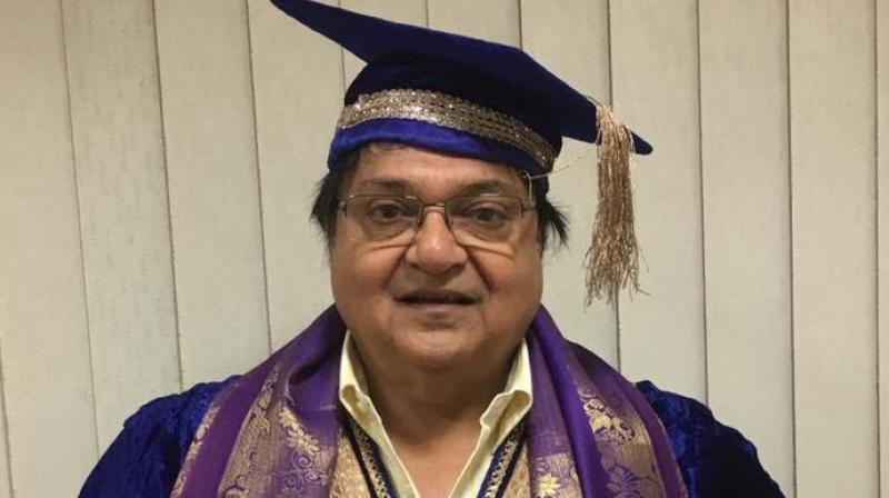 Veteran comedian Rakesh Bedi conferred honourary doctorate